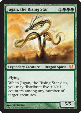 Magic: the Gathering - Jugan, The Rising Star - Modern Masters (Mtg Best Flying Creatures)