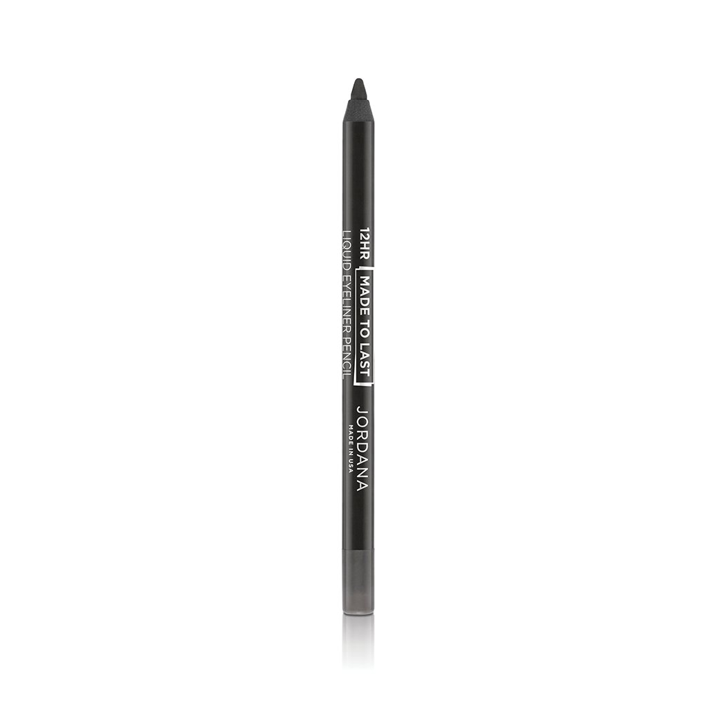 (3 Pack) JORDANA 12 Hr Made To Last Liquid Eye Liner - Charcoal Definition