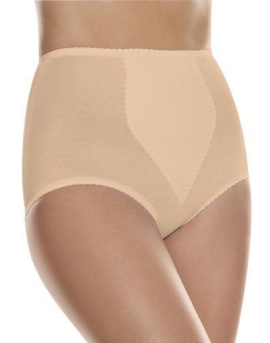 Hanes Shapers Everyday Light Control w/ Tummy Panel Brief 2 Pack (H091) -LIGHT BEIG -3X