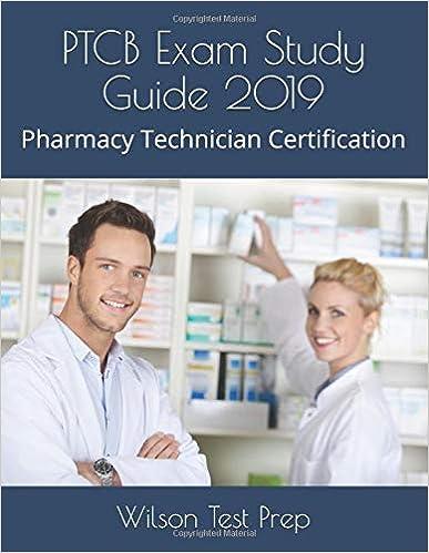 PTCB Exam Study Guide 2019 Pharmacy Technician
