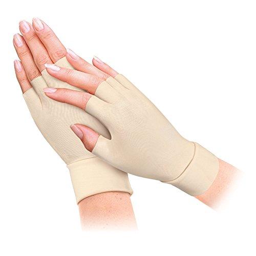 Gent House Unisex Half-Finger Anti Arthritis Health Gloves Ladies - Glove Anti