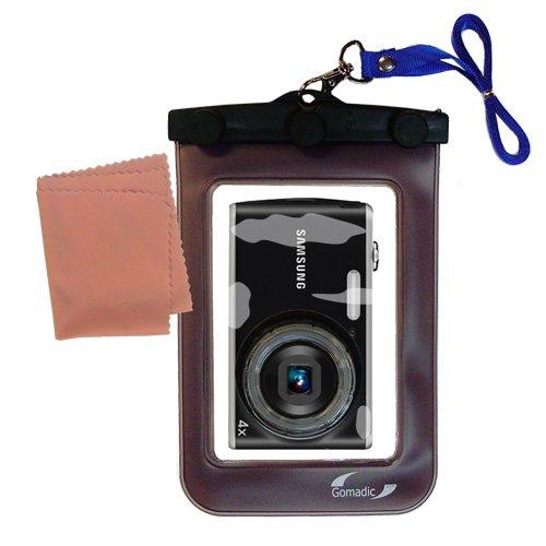 軽量水中カメラバッグSuitable for the Samsung pl90防水保護   B007FDLVH6