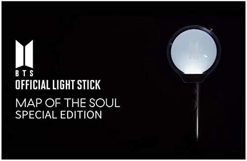 Aplicaci/ón De Conexi/ón Bluetooth para Ajustar El Color De La Luz Army Bomb Lightstick Version 4 YMJJ BTS Light Stick Map of The Soul 7 Special Edition