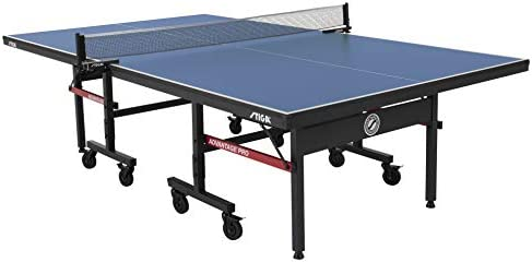 STIGA Advantage Pro Tournament-Quality Indoor Table Tennis Table 95 Preassembled Out of the Box with Professional-Level Net and Post Set