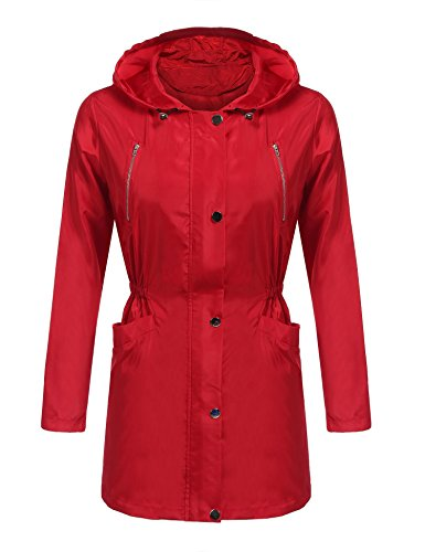 Red All Weather Jacket - 2
