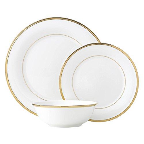 Lenox Eternal White 3 Piece Place Setting dinnerware sets