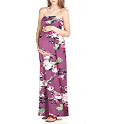 Maternity Comfortable Maxi Tube Dress