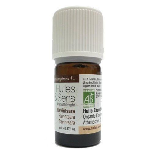 Huiles & Sens - ravintsara essential oil (organic) - 5 ml [Personal Care]