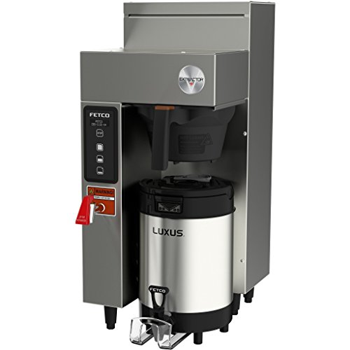 Fetco CBS-1131V+ E113151 Extractor V+ Series Stainless Steel Single Automatic Coffee Brewer 120V 2400W ()