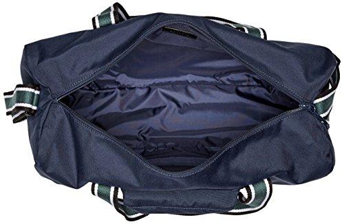 Lacoste Men's Tennis Set Duffle Bag, Peacoat Sinople Stripe, One Size by Lacoste (Image #4)