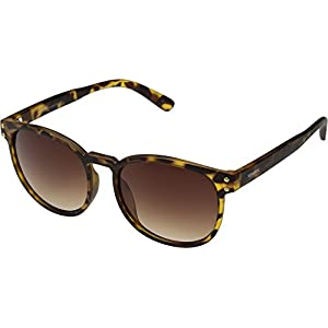 PERVERSE Sunglasses Unisex Is This Vegan Matte Tortoise/Brown Gradient One Size