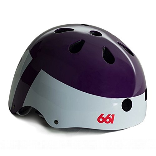 661 Youth Dirt Lid Helmet (Purple, Small/Medium) ()
