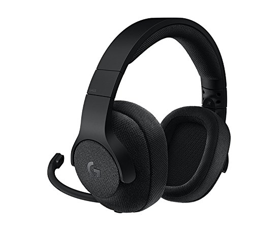 Price comparison product image Logitech G433 7.1 Wired Gaming Headset with DTS Headphone: X 7.1 Surround for PC,  PS4,  PS4 PRO,  Xbox One,  Xbox One S,  Nintendo Switch – Black(Certified Refurbished)
