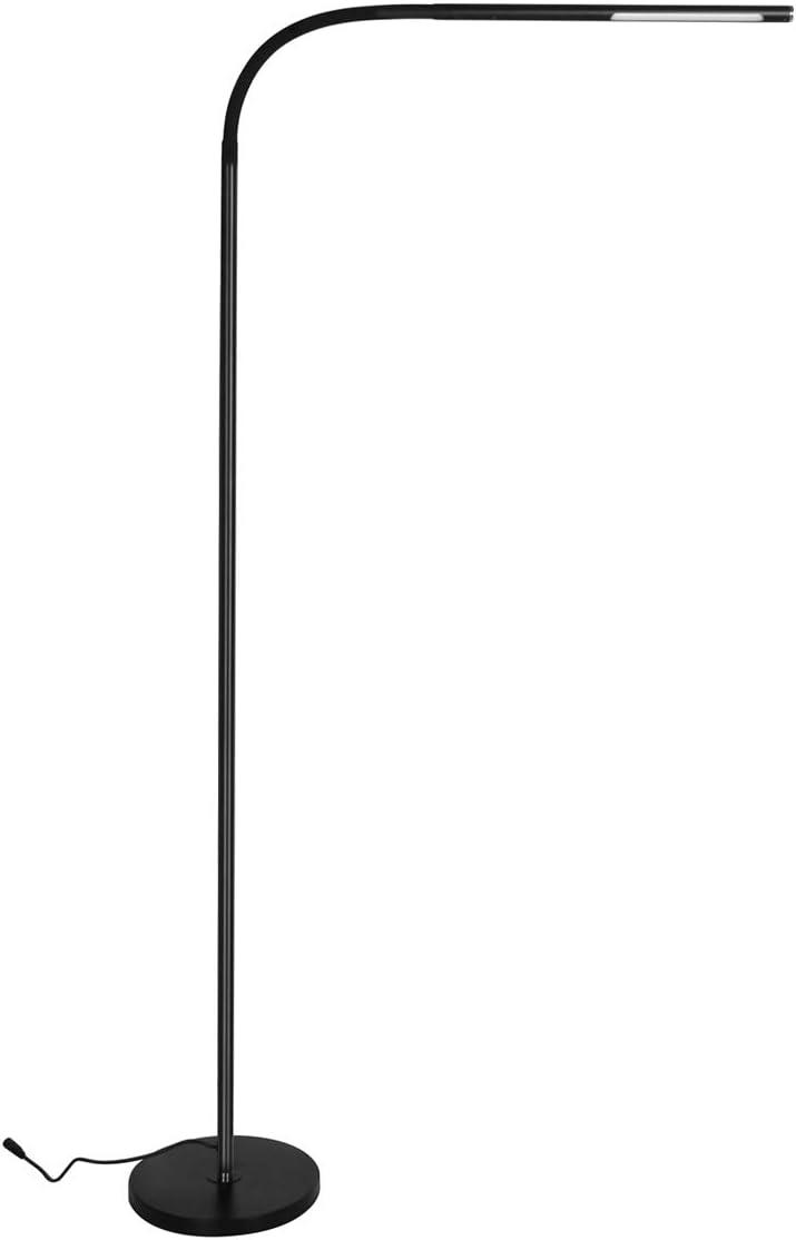 HaloOptronics - Rocket 1933 - Lámpara de pie LED de 10W equivalente a 100W - Variación Táctil de la Luminosidad: Amazon.es: Iluminación