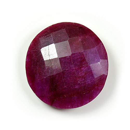 Jewelryonclick Ruby Pendant Charm 6 Carat Natural Genuine Oval Gemstone 92.5 Sterling Silver