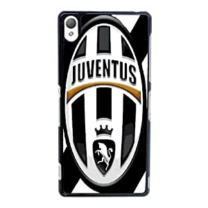 Plastic Case Azpkuu Sony Xperia Z3 Cell Phone Case Black Juventus Generic Design Back Case Cover