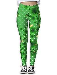 ST.Patrick's Day Long Compression Pants/Yoga Pants Yoga Leggings Ladies High Rise