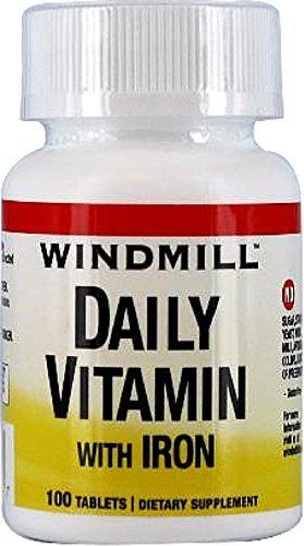 Windmill Daily Vitamin 100 Tablets - 4