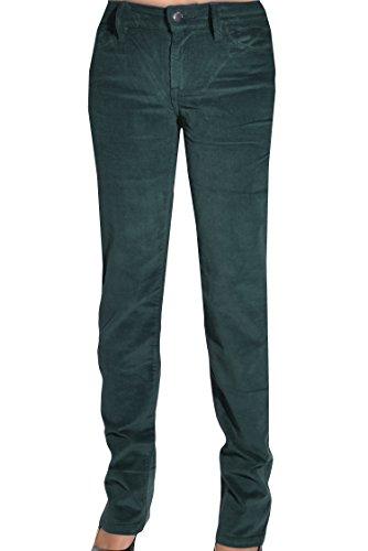 (Calvin Klein Womens Straight Leg Corduroy Pants (Vine, 4X32))