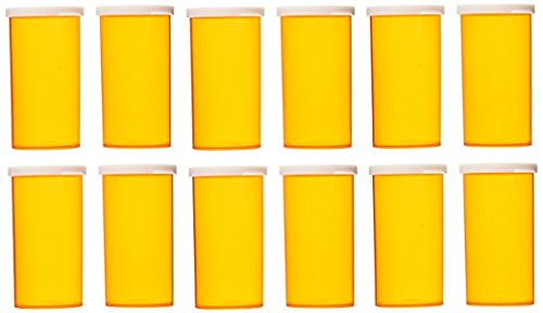 Road Snap - Yellow Brick Road 40 Dram Prescription Vial Snap Cap (12-Pack)