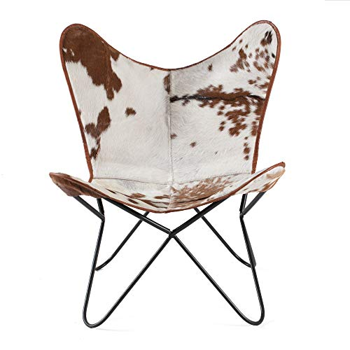 Madeleine Home Montreux Iron BKF Butterfly Chair