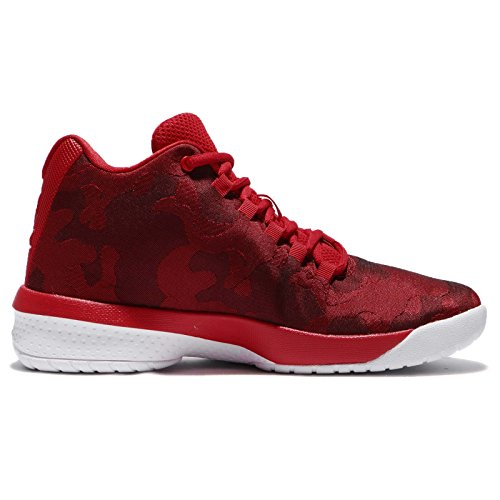 Nike Basketball Fille White Rot BG Chaussures Fly de B Red University Jordan rxSwUqYr