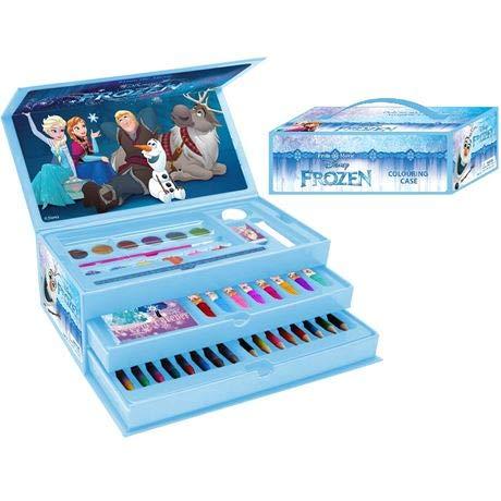 Templar Stationery School Colouring Pencil,Pens Paint sets Toolbox 52pce Frozen Disney