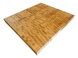 Armani Fine Woodworking End Grain Hard Rock Maple Butcher Block Countertop