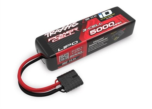 Traxxas 2832X 11.1V 5000mAh 3-Cell LiPo Battery, Short