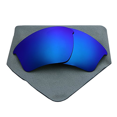 Polarized Lenses Replacement for Oakley Half Jacket 2.0 XL Blue - Half Oakley Jacket Accessories