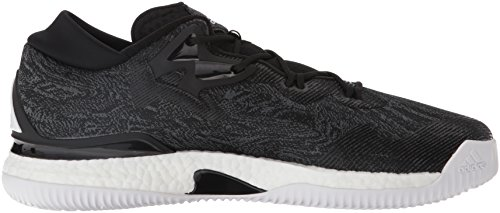 adidas Originals Men's Crazylight Boost Low Basketball Shoes Black/White/Black manchester great sale online eastbay for sale explore cheap online factory outlet sale online outlet free shipping duJ2P4kUx