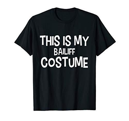 Bailiff Halloween Costume (This is my BAILIFF Costume Halloween Simple Costume BAILIFFS)