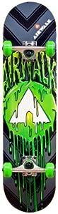 Airwalk Undone Complete Skateboard, Green by Division 6 Sports Inc.