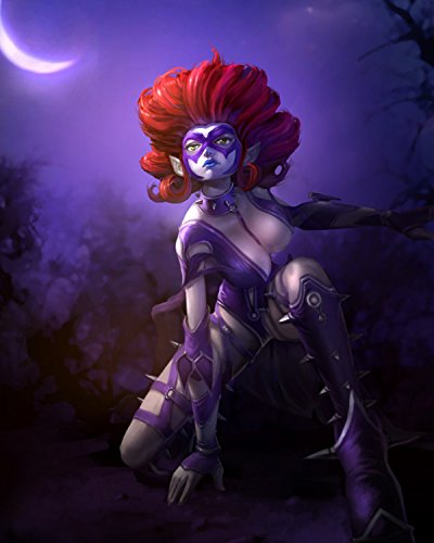 Evelynn poster League of Legends Hero 7 LoL Art Print Gamers Wall Decor
