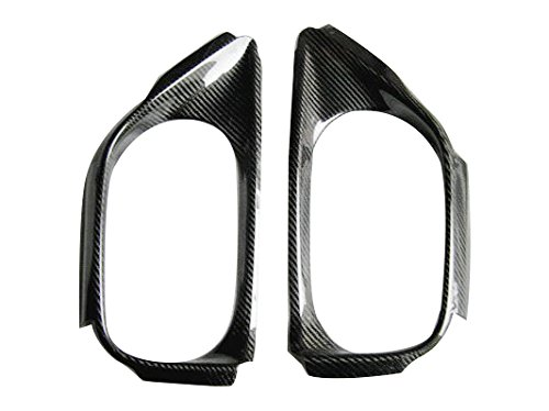 R35 Carbon Fiber - Carbon Fiber For NISSAN R35 08-15 GTR OE Style Rear Bumper Exhaust Heat Surround Shield Cover Protector