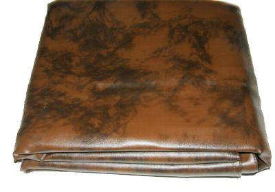 Iszy Billiards 8 Foot Heavy Duty Fitted Leatherette Pool Table Billiard Cover Amber ()