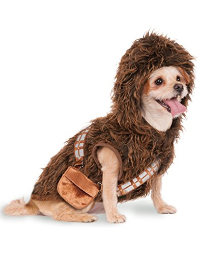 Rubies Costume Star Wars Chewbacca Hoodie Pet Costume, Small (Dog Star Wars Costume)