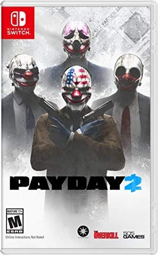 Payday 2 - Nintendo Switch (The Hunter Call Of The Wild Update)