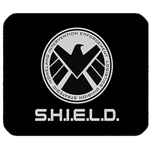 Agents of Shield Customized Rectangle Mouse Pad Non-slip Rubber Mousepad Gaming Mouse Pad 9.84 by Admant - Agents Of Shield Mouse Pad