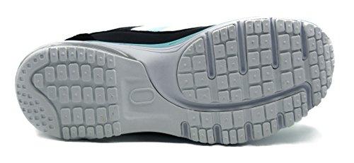 Running Straßenlaufschuhe Leichte Laufschuhe Knixmax Bequeme Turnschuhe Light Luftkissen Sneaker Sportschuhe Damen Laufschuhe Blau IwTqO