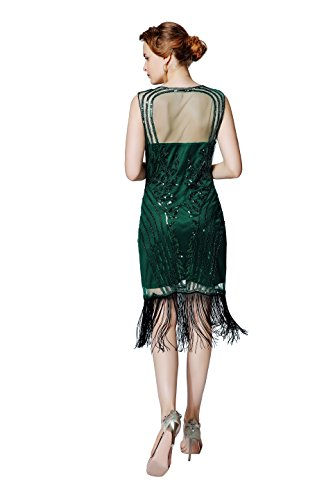 5f4635febbf ... Cocktail Monday Sexy Dress Theme Gatsby Metme Beaded V Fringed Cyber  Great Neck Women s Party 1920s ...