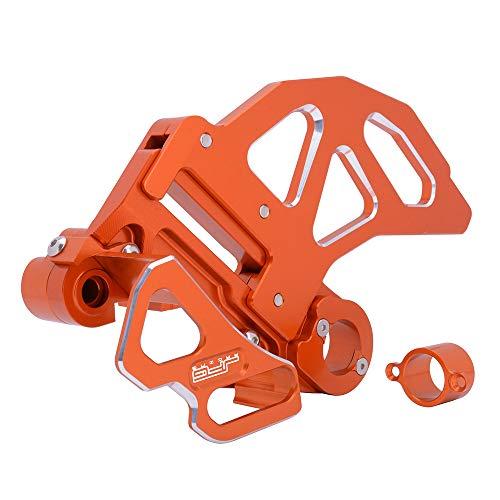 (AnXin CNC Rear Brake Disc Guard Rear Brake Caliper Guard Kit - Fit For 125-530 KTM SX EXC SXF EXCF XC XCW XCF XCFW SMR)