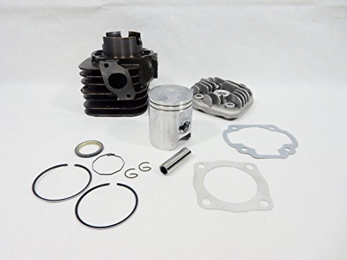 - 90cc 2 Stroke Big Bore Kit (12mm Wrist Pin) Scooter Minarelli JOG ZUMA 1E40QMB GY6 STORE