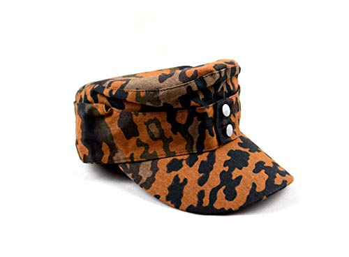 szwykw Replica WWII German Oak Autumn Leaf hat Camo Cap (60cm)