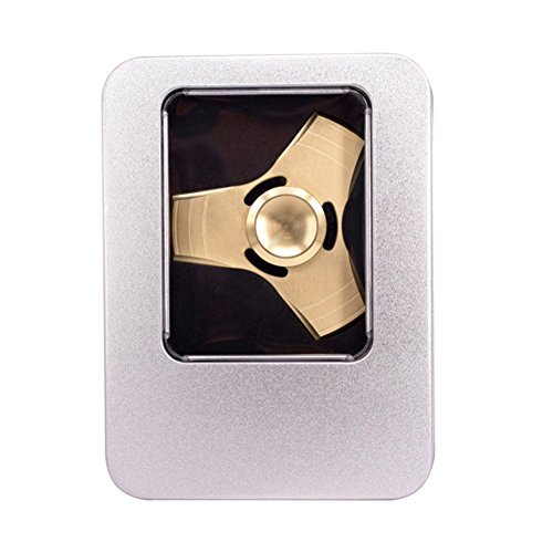 Fidget Spinner Metal Toy Stress Reducer – Perfect For ADD, ADHD, Anxiety, and Autism Adult Children