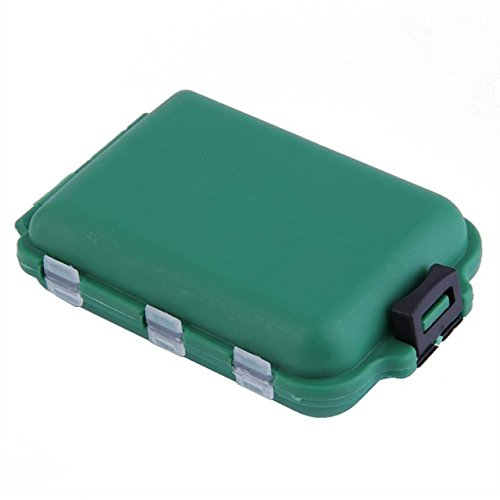 Tackle Backpack - Lure Box - Tackle Box Backpack - Fishing Tackle Backpack - Bait Box - Army Green Plastic Tackle Boxes Hook Compartments Storage Case Outdoor Fishing Swivels Lure Bait Tool