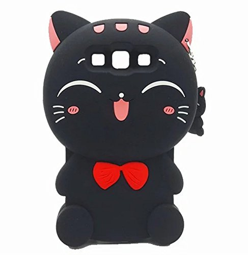 Galaxy J5 Silicone Cartoon Case,GUILIN 3D Cartoon Character Animals Design Soft Rubber Cover Gel Skin for Samsung Galaxy J5 J500 (Cartoons Characters)