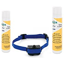 Value Pack Petsafe Elite Little Dog Spray Bark Control with Extra Citronella Spray Refill