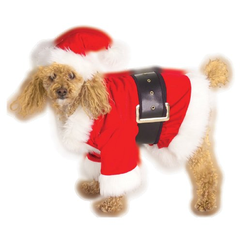 Santa Dog Pet Costume - Small (Santa Claus Costumes For Sale)