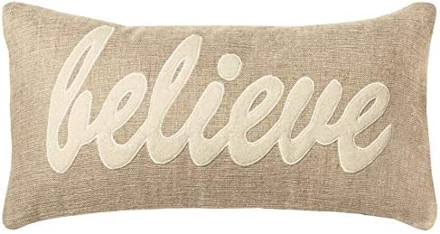 Rizzy Home T09959 Decorative Pillow, 11 X21 , Natural